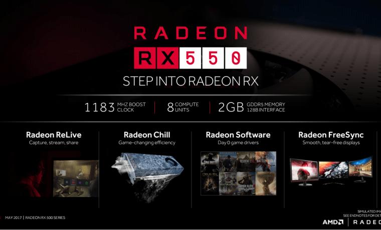 Radeon RX 550