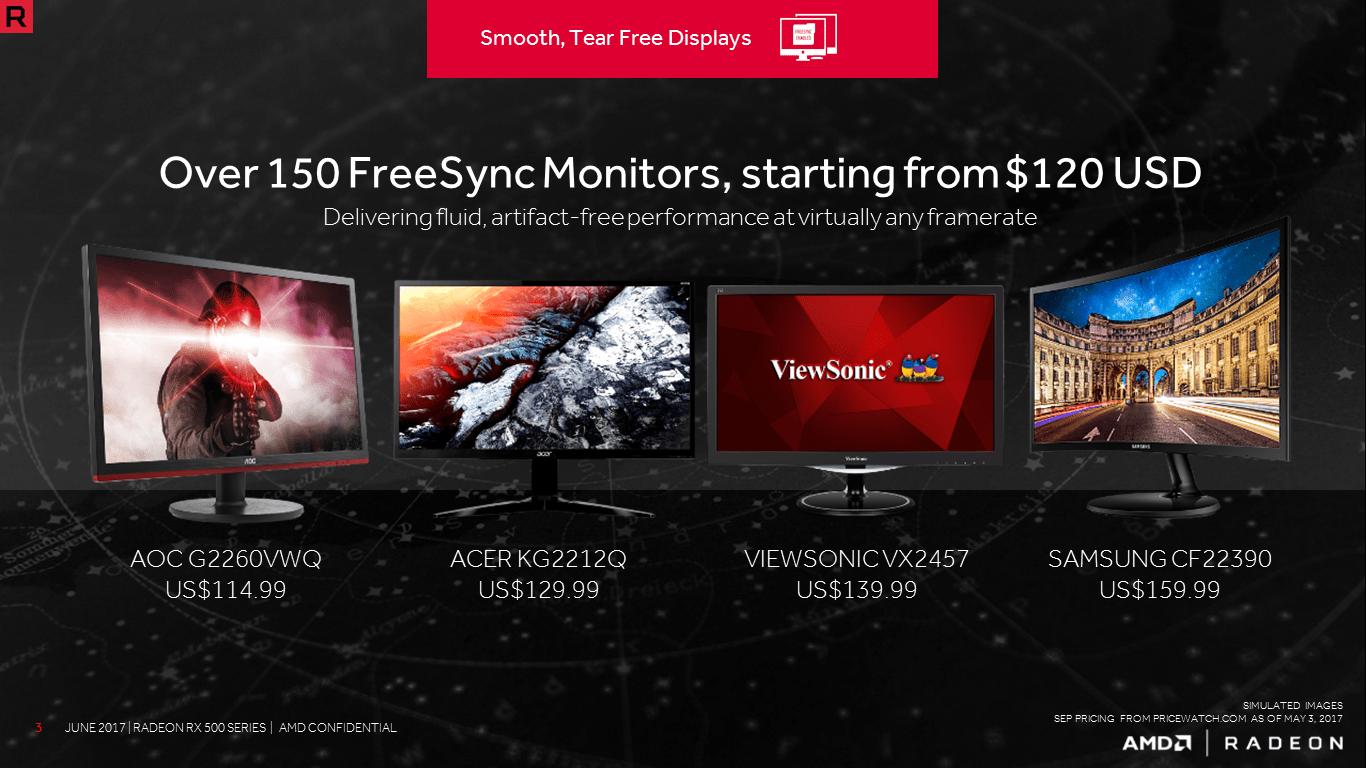 Radeon RX 550 Kompatibel dengan Monitor FreeSync, Lebih Terjangkau dibanding Kompetitor