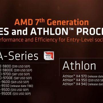 seri 7th Gen APU Desktop AM4 & Athlon X4 AM4