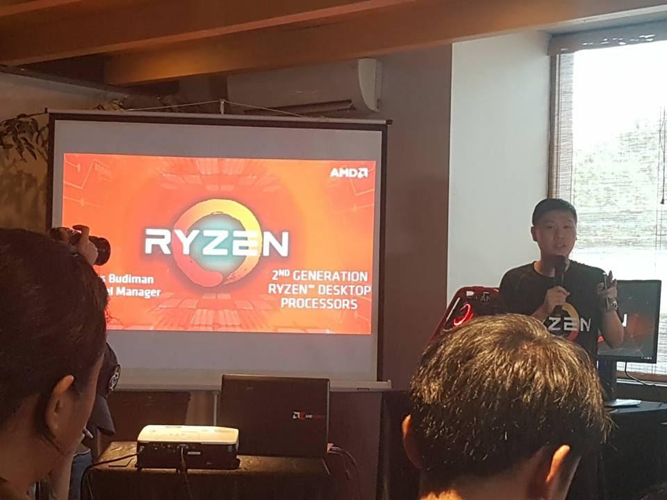 Acara Pengenalan Ryzen 2ND Gen Bersama Media