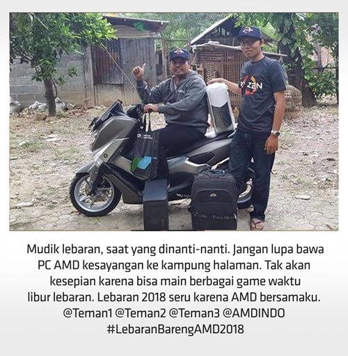 Contoh Foto Kontes Lebaran Bareng AMD 2018