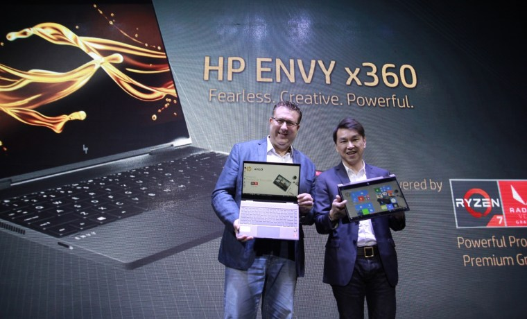 hp envy x360 ryzen mobile