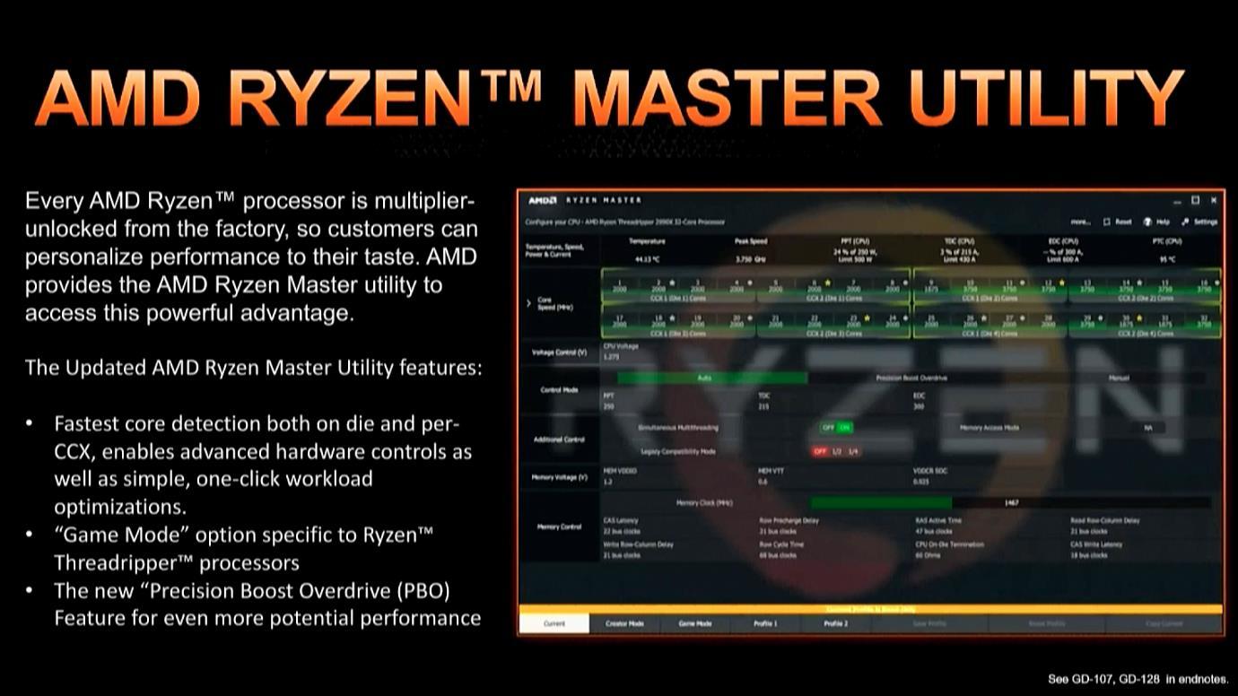 Ryzen Master Utility