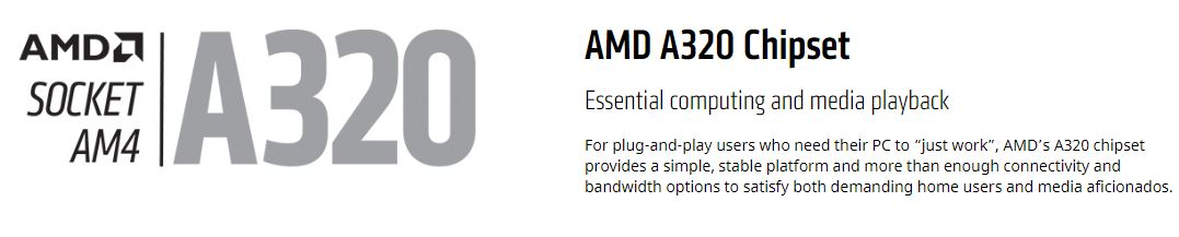 A320 AM4 AMD Motherboard