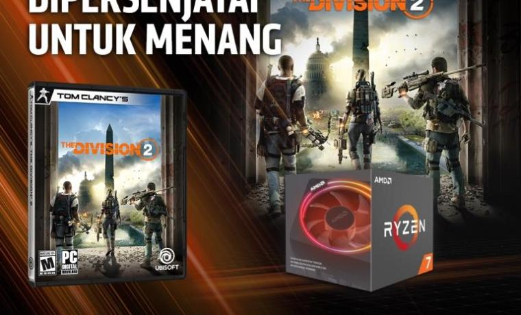 Bonus game The Division 2 untuk pembelian Ryzen