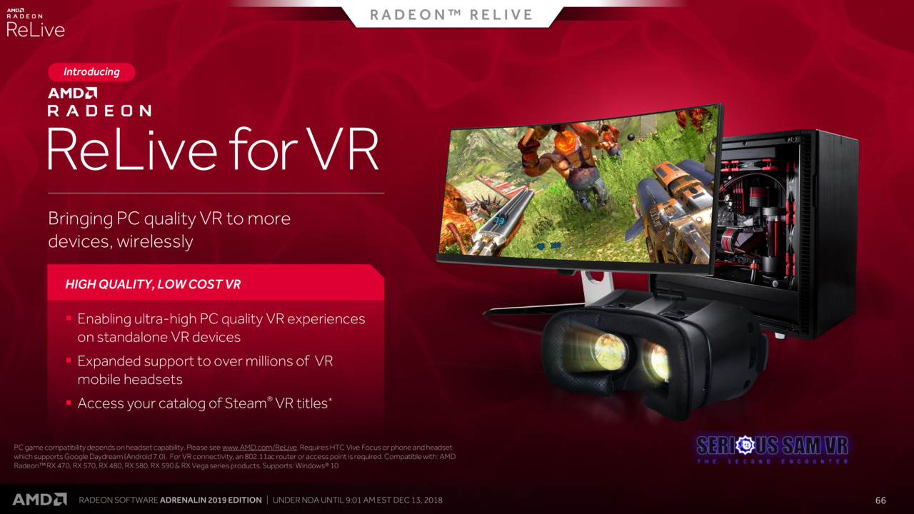 Radeon ReLive for VR