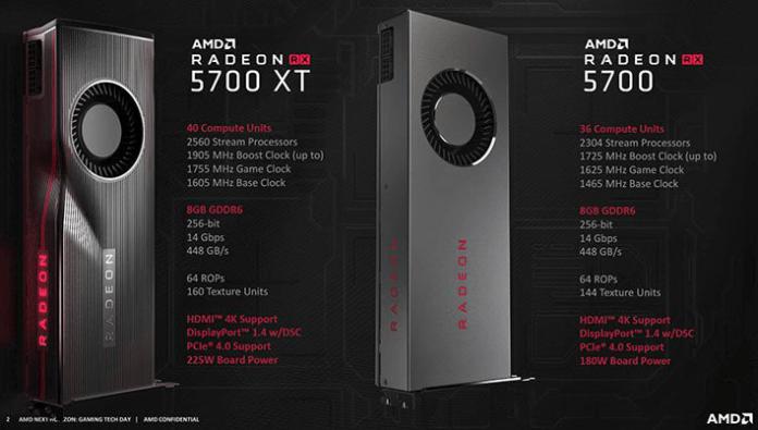 Radeon™ RX 5700 Series