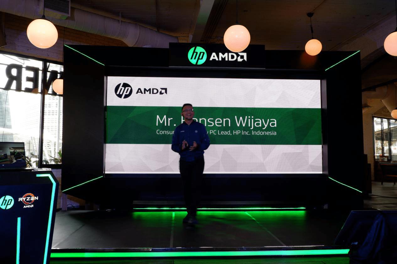 Opening Mr. Hansen Wijaya on HP Pavilion Gaming 15