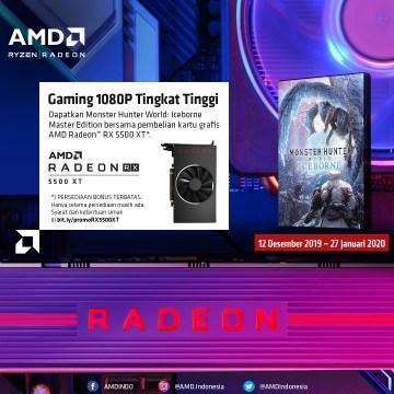 Promo Klaim Game Radeon™ RX 5500XT