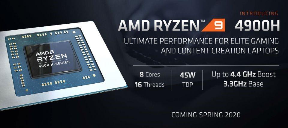 AMD Ryzen™ 9 4900H