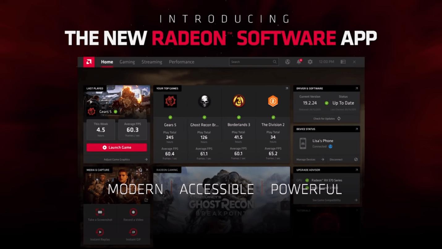 Kesimpulan Radeon™ Software Adrenalin 2020