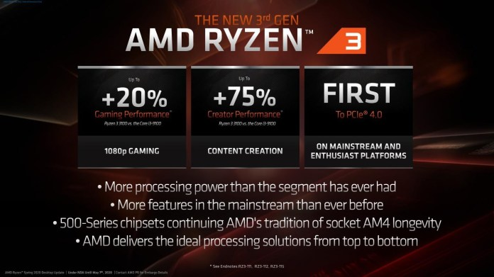 Performa Ryzen 3 3000 Series