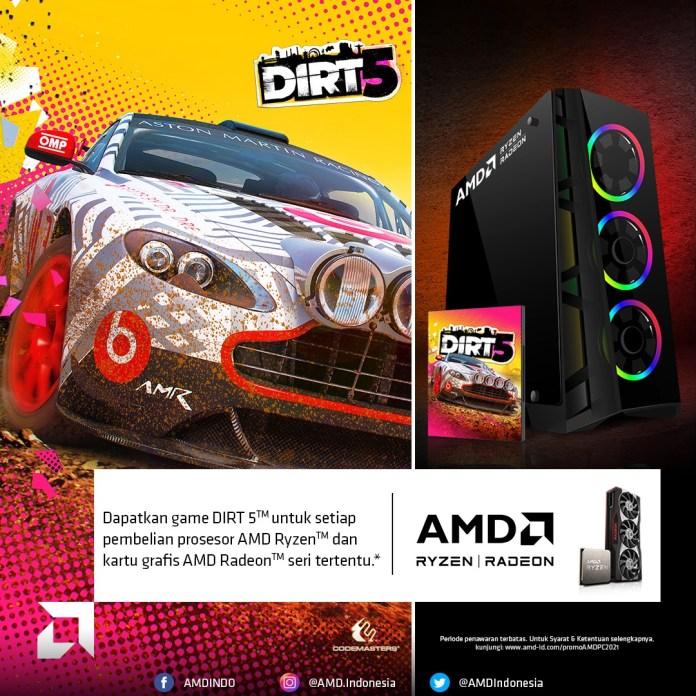Beli Prosesor AMD Ryzen™ dan Kartu Grafis Radeon™ Bisa Dapat Game Gratis!
