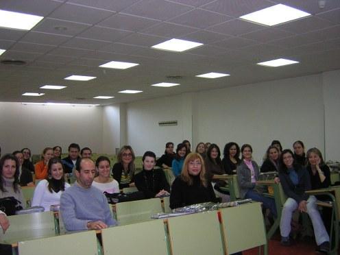 Charla facultad Psicología Universidad de Murcia.