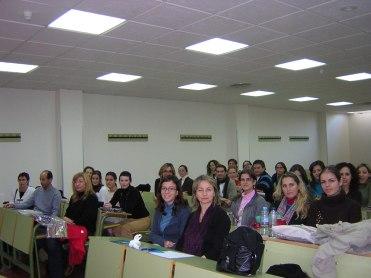 Charla facultad psicología Universisad de Murcia.