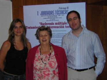 Jornadas Técnicas Alicante -Psicóloga, Fisio y Presidenta AMDEM.
