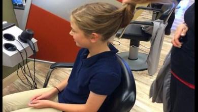 Photo of Κοριτσάκι 10 ετών δωρίζει τα μαλλιά της σε παιδιά με καρκίνο και οι συμμαθητές της κοροϊδεύουν τη νέα της εμφάνιση