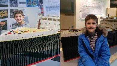 Photo of 15χρονο αγόρι με αυτισμό έφτιαξε τον Τιτανικό με τουβλάκια Lego