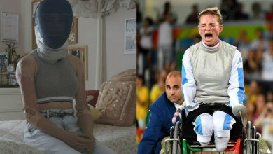 Photo of Η μοναδική χρυσή παραολυμπιονίκης της ξιφασκίας χωρίς χέρια και πόδια. Επέλεξε τον ακρωτηριασμό για να μη χάσει τη ζωή της (βίντεο)