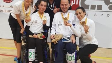 Photo of Χρυσό μετάλλιο για τα ζευγάρια BC3 στο Παγκόσμιο Κύπελλο του Ντουμπάι