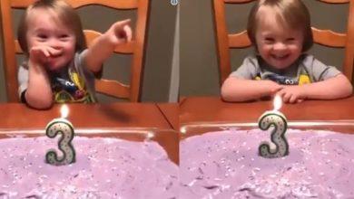 Photo of 3χρονος με σύνδρομο Down έχει γενέθλια και η χαρά του δεν περιγράφεται!
