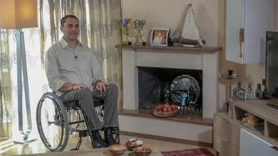 "Photo of Ο Άγγελος Σουσουγγέλης μιλάει στην ""Έκτη Αίσθηση"" για τη ζωή του και για το πως βλέπει την αναπηρία"