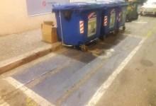 "Photo of Αγρίνιο: ""Πάρκαραν"" τους μπλε κάδους σε χώρο για ΑμεΑ!"