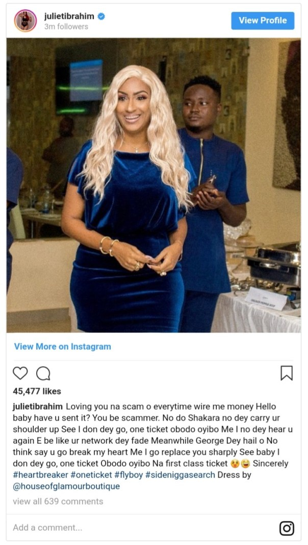 Loving You Is A Scam — Juliet Ibrahim (2)