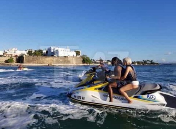Cardi B And Offset Jet Ski Photo In Puerto Rico 6()