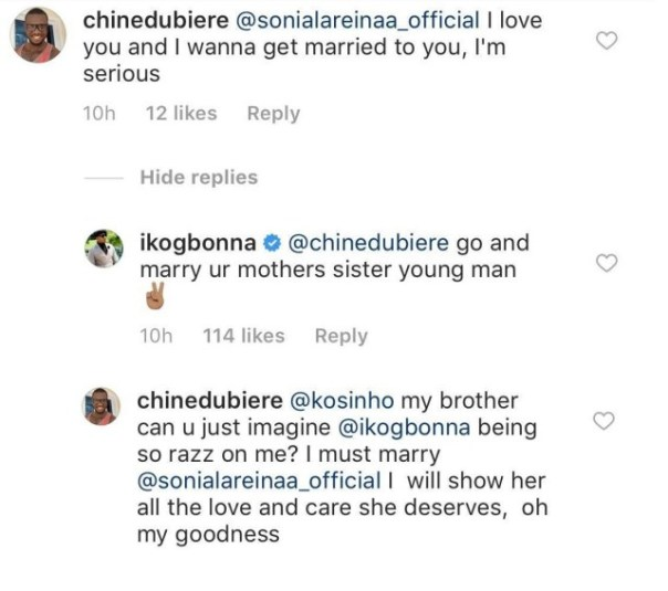 IK Ogbonna Replied Man Who Proposed To His Estranged Wife (2)