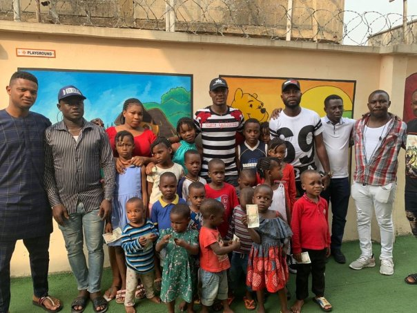 Odion Ighalo Spends Time With Homeless Kids At His Orphange (3)