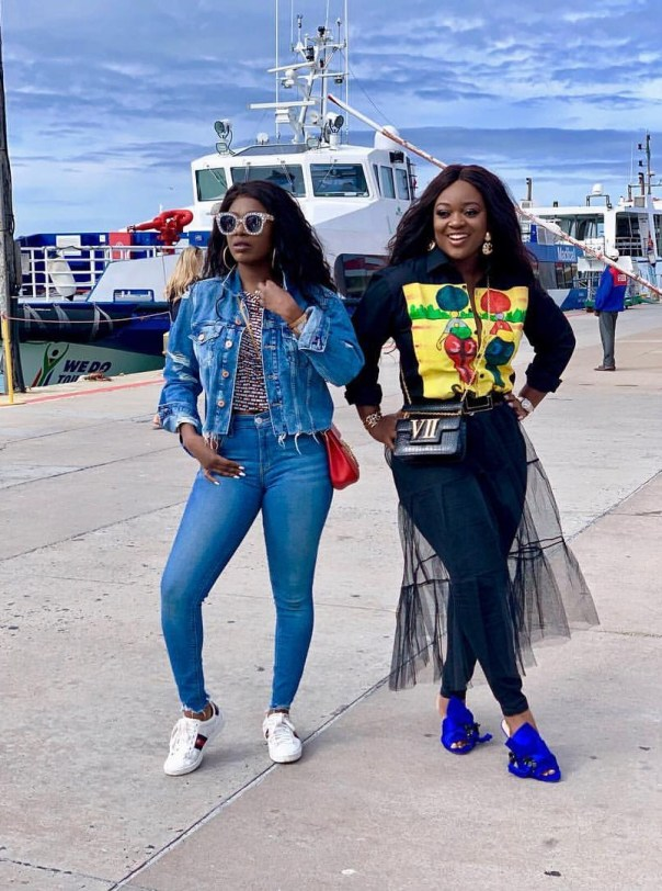 Annie Idibia And Jackie Appiah Robben Island