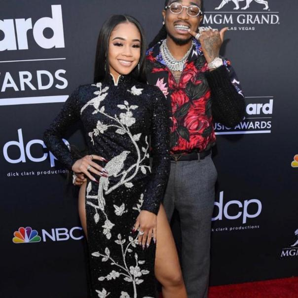 Quavo Gifts Saweetie With Expensive Bling