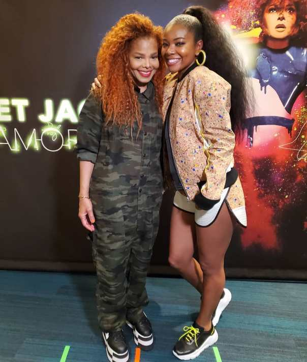 Critics Slam Janet Jackson After Gabrielle Union Shares Photo (2)