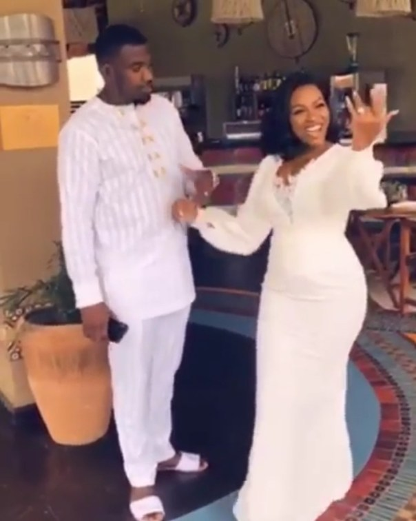 John Dumelo's Wife Says She Married Her Bestie (2)