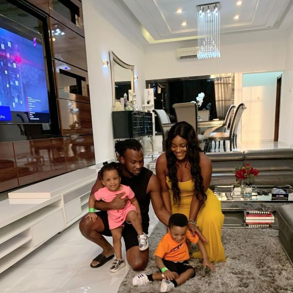 Chizzy Alichi Visits Paul Okoye At Home (2)