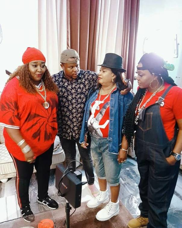 Ebele Okaro And Rachael Oniga Show Off Their Swag (6)