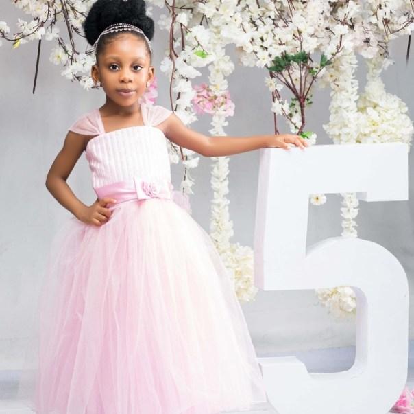 Nuella Njubigbo Celebrates Daughter Tess Tchidi Chikere On 5th Birthday (2)