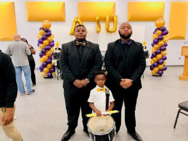 5-Year-Old Louisiana Drummer Gets Full Band Scholarship To College (3)