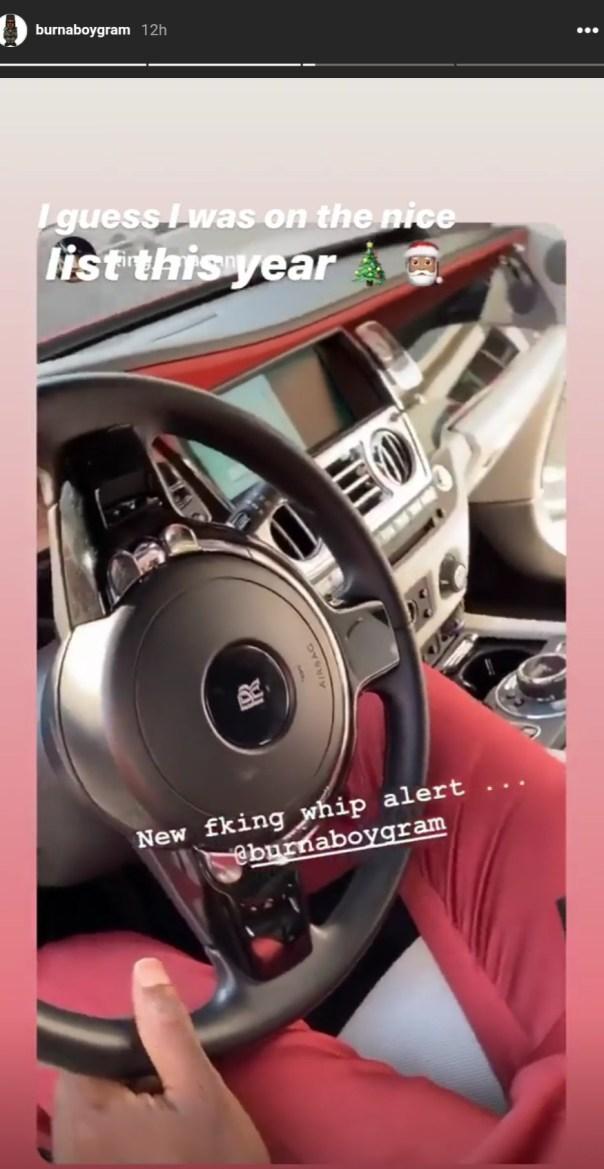 Burna Boy Rolls Royce (2)