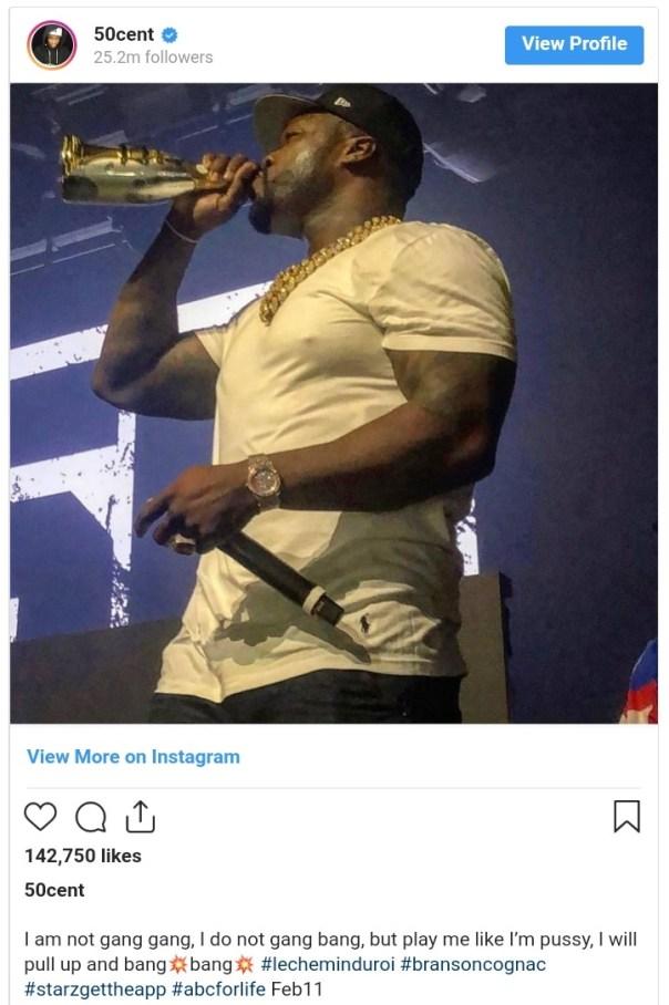 Michael Blackson Mocks 50 Cent Over Tit*#es Photo (2)