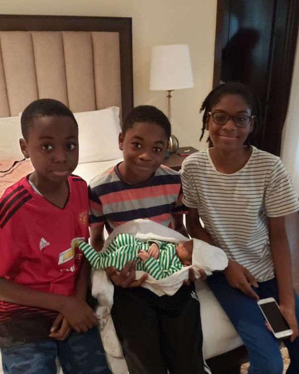 Dethroned Emir of Kano Lamido Sanusi 4th Wife Welcome Baby Girl (2)