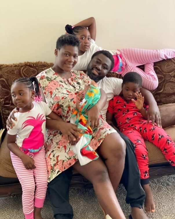 Mercy Johnson Family Photos Including Herself Husband 4 Children
