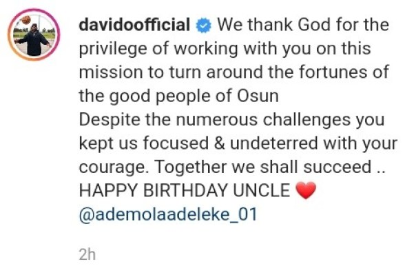 Davido Wishes His Uncle Ademola Adeleke Happy Birthday (2)