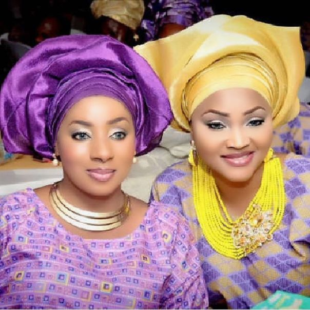 Mide Martins And Mercy Aigbe 2014 Owambe Throwback Photo (3)