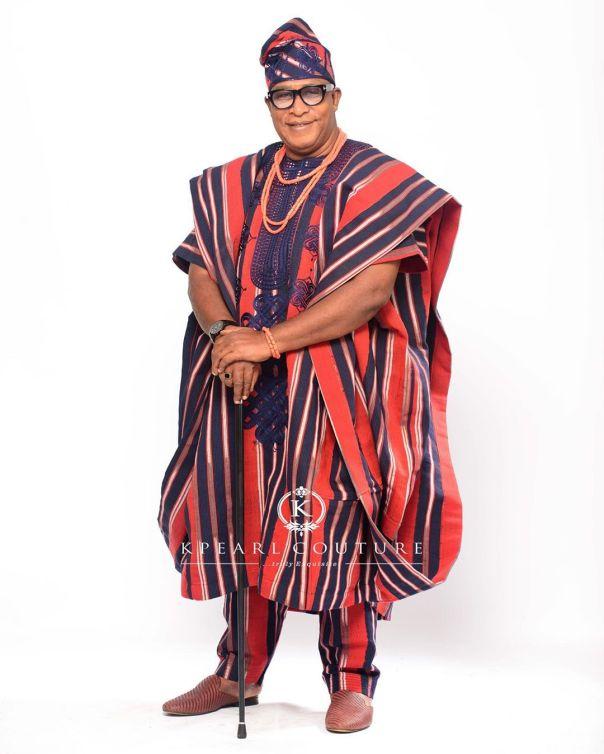 Femi Adebayo And Adebayo Salami Traditional Attires (4)