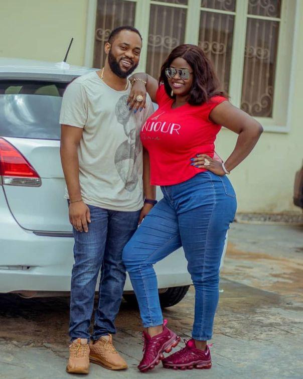 Damola Olatunji With Wife Bukola
