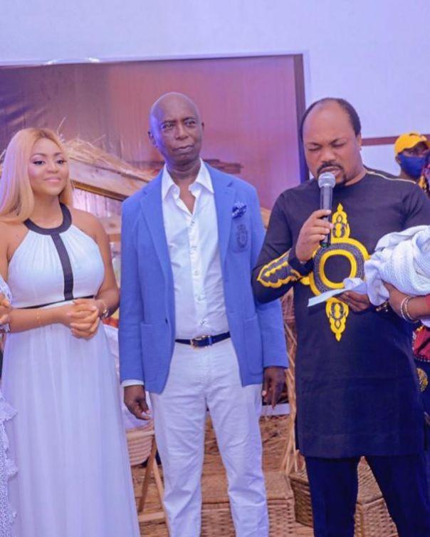 Regina Daniels Son Munir Neji Ned-Nwoko Christening (7)