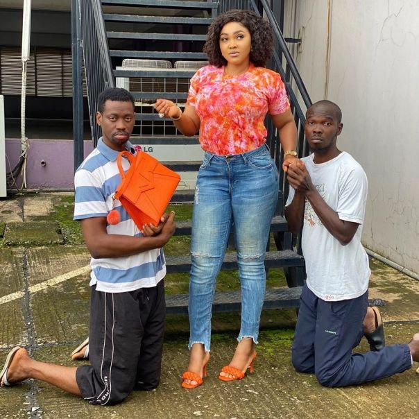 Lateef Adedimeji And Olatayo Amokade Date Mercy Aigbe (2)
