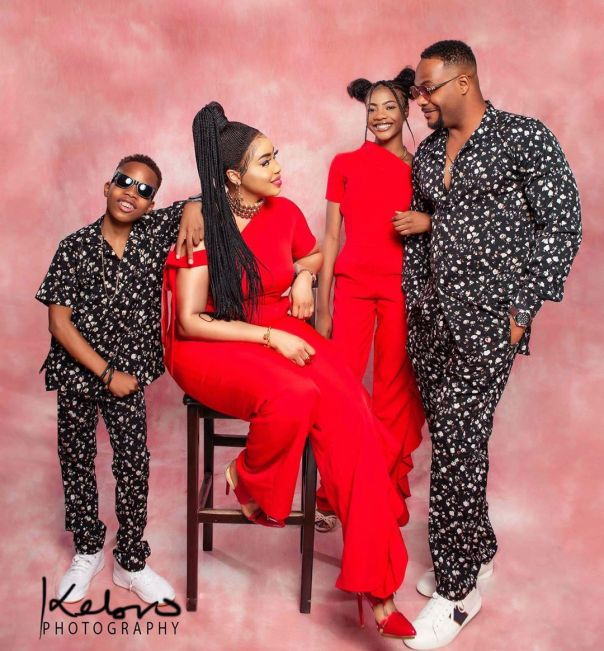 Bolanle Ninalowo Family Photo